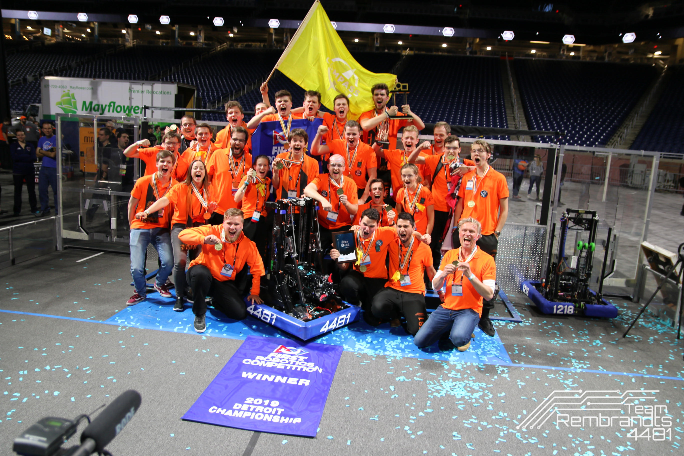 Team Rembrandts FRC Victory 2019 | Cadmes